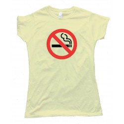 Womens No Smoking - Tee Shirt