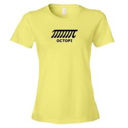 Womens Octopi Math Nerd - Tee Shirt