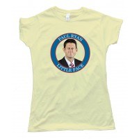 Womens Paul Ryan Little Face - Tee Shirt