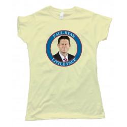 Womens Paul Ryan Little Face - Tee Shirt