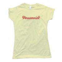 Womens Pinterest Pinsomniac - Tee Shirt