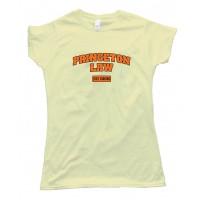 Womens Princeton Law School Just Kidding - Tee Shirt