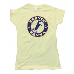 Womens Ropes & Horseshoes Bronco Bamma - Tee Shirt