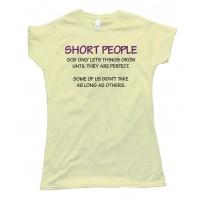 Womens Short People Tee Shirt