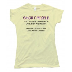 Womens Short People Tee Shirt