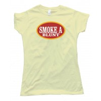 Womens Smoke A Blunt Phillies Blunt - Tee Shirt
