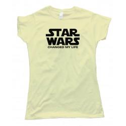 Womens Star Wars Changed My Life - Tee Shirt