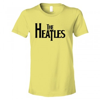 Womens The Heatles Miami Heat Basketball Beatles - Tee Shirt