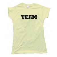 Womens There Is No I In Team ... Well - Tee Shirt