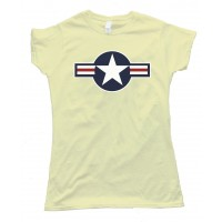 Womens Us Star Insignia - Tee Shirt