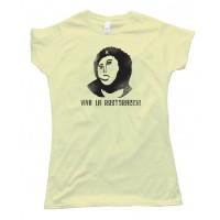 Womens Viva La Restoracion - Jesus - Ch Guevara Mashup - Tee Shirt