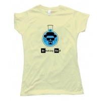 Womens Walter White Heisenberg Flash Breaking Bad - Tee Shirt