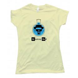 Womens Walter White Heisenberg Flash Breaking Bad - Tee Shirt