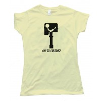 Womens Why So Curious - Mars Rover Batman - Tee Shirt