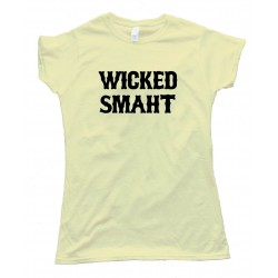 Womens Wicked Smaht Boston - Tee Shirt