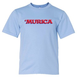 Youth Sized 'Murica American Spirit George Bush Style - Tee Shirt