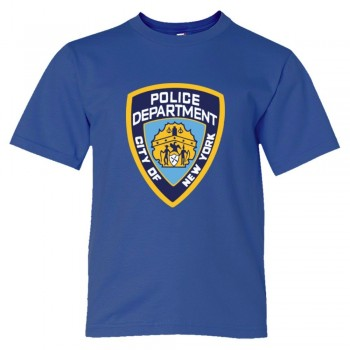 Youth Sized Nypd New York Police Department Logo - Tee Shirt
