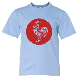 Youth Sized Sriracha Rooster Emblem Logo - Tee Shirt