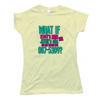 Womens What If Stacey'S Mom Was Jessie'S Girl Tee Shirt