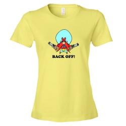 Womens Back Off! Yosemite Sam Classic - Tee Shirt