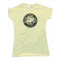 Womens Bacon Is Meat Candy - Tee Shirt