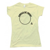 Womens Circle Of Trust - You Are Outside - Tee Shirt