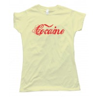 Womens Cocaine - Tee Shirt