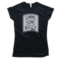 Womens Gimme Some Nasty - San Antonio Spurs Tee Shirt