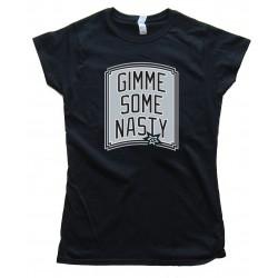 Womens Gimme Some Nasty - San Antonio Spurs Tee Shirt
