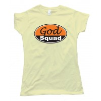 Womens God Squad Christian Tee Shirt