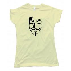 Womens Guy Fawkes Mask - Epic Fail Guy - Tee Shirt