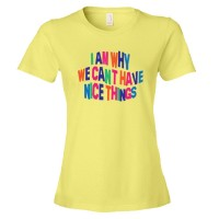 Womens I Am Why We Can'T Have Nice Things - Tee Shirt