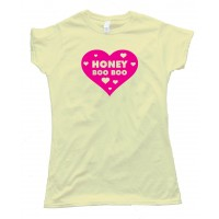 Womens I Love Honey Boo Boo Heart - Tee Shirt