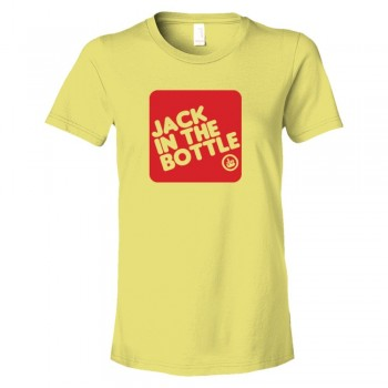 Womens Jack In The Bottle Jack In The Box Drinker - Tee Shirt