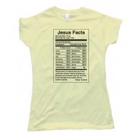 Womens Jesus Facts - Psalm 73 Tee Shirt