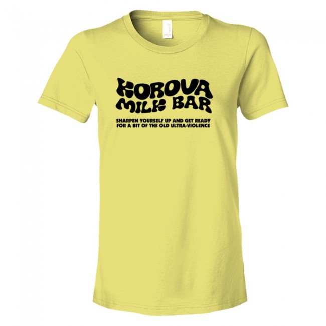 d6c5181d Womens Korova Milk Bar A Clockwork Orange - Tee Shirt