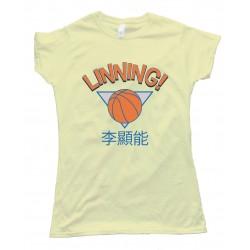 Womens Linning! Jeremy Lin New York Knicks Tee Shirt