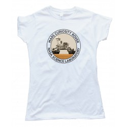 Womens Mars Curiosity Rover - Nasa Science Laboratory - Tee Shirt
