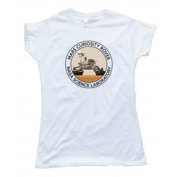 Womens Mars Curiosity Rover - Nasa Science Laboratory - Tee Shirt