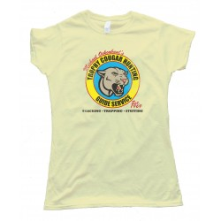 Womens Michael Ockenbaul'S Trophy Cougar Hunting Guide Service - Tee Shirt