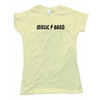 Womens Music Band Airheads Acdc Rock Steve Buscemi - Tee Shirt