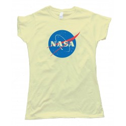 Womens Nasa Fifth Sun Logo - Tee Shirt