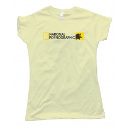 Womens National Pornographic Tee Shirt