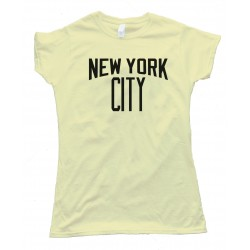 Womens New York City John Lennon Style Tee Shirt