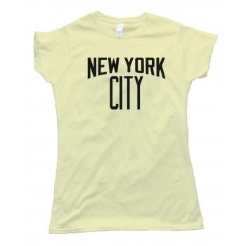 Womens New York City John Lennon Style Tee Shirt