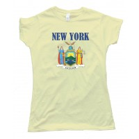 Womens New York Stateflag - Tee Shirt