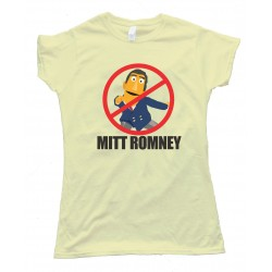 Womens No Mitt Romney - Say No To Mitt Tee Shirt