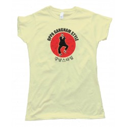 Womens Oppa Gangnam Style Icon - Tee Shirt