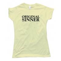 Womens Original Sinner - Tee Shirt