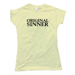 Womens Original Sinner - Tee Shirt